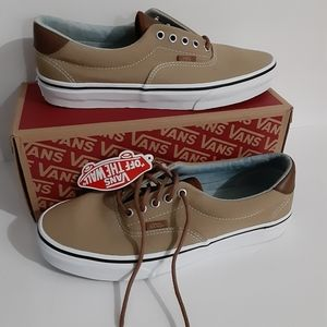 Vans Shoes - Vans Era 59 Mens Khaki Brown Low Top Shoes